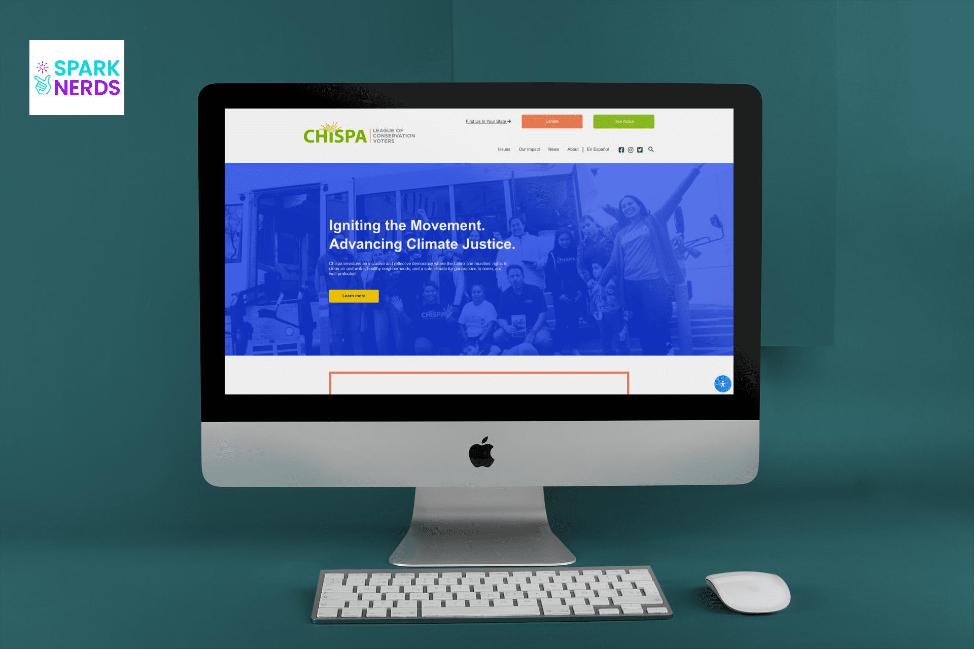 new chispa lcv website by sparknerds